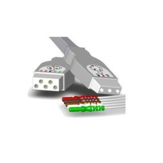 Cable de paciente Burdick EKG E350/EK10/Elite/Eclipse LE