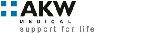 AKW Medical Logo White
