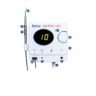 Bovie Derm 101 High Frequency Desiccator