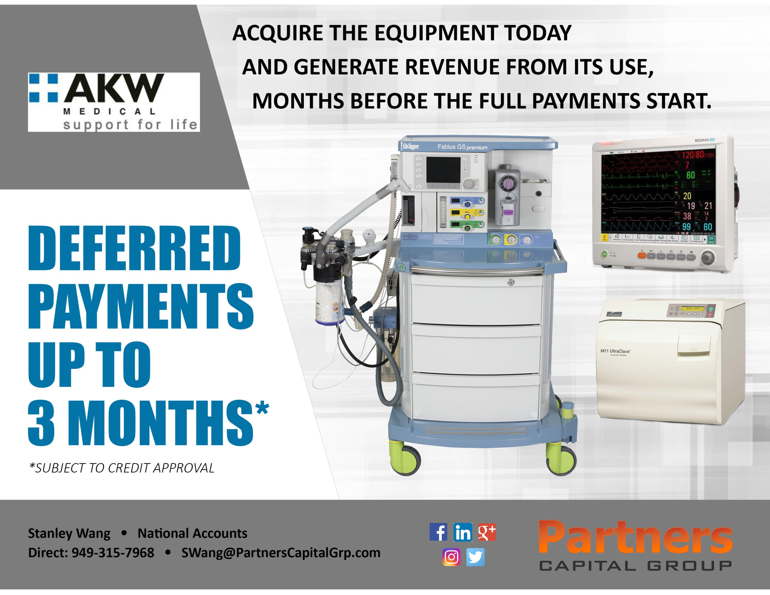 AKW Medical Financing Options