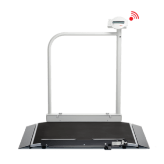 Seca 676 EMR Ready Wheelchair Scale Front