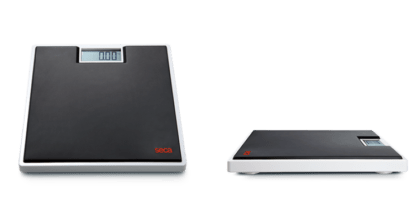 Seca 803 Digital Flat Scale for Individual Patient Use Example Black